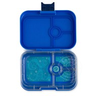 Yumbox YumBox Panino 4 Compartment - Neptune Blue w/ Space Tray