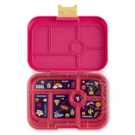Yumbox YumBox Original 6 Compartment - Kawaii Pink w/ Emoji Tray