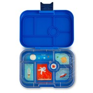 Yumbox YumBox Original 6 Compartment - Neptune Blue w/ Planet Tray