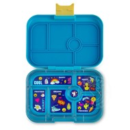 Yumbox YumBox Original 6 Compartment - Kai Blue w/ Emoji Tray