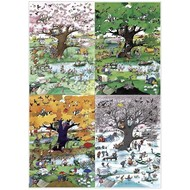 Heye Heye 4 Seasons Puzzle 2000pcs