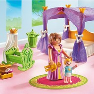 Playmobil Playmobil Princess Chamber with Cradle