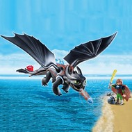 Playmobil Playmobil How to Train Your Dragon Hiccup & Toothless