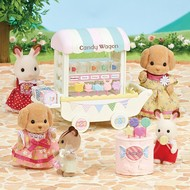 Calico Critters Calico Critters Candy Wagon