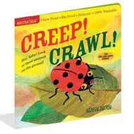 Workman Publishing Indestructibles Book: Creep! Crawl!