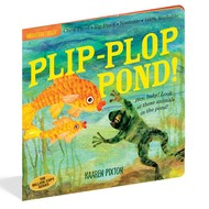 Workman Publishing Indestructibles Book Plip-Plop Pond!