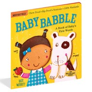 Workman Publishing Indestructibles Book: Baby Babble