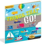 Workman Publishing Indestructibles Book: Things That Go!