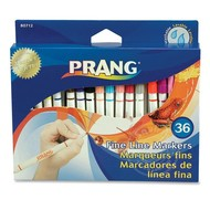 Prang Prang Fine Line Markers 36 Colour Set Washable