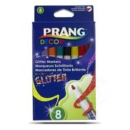 Prang Prang Glitter Markers 8 Colour Set