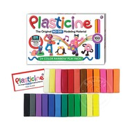 Plasticine 24 Color Rainbow Play Pack