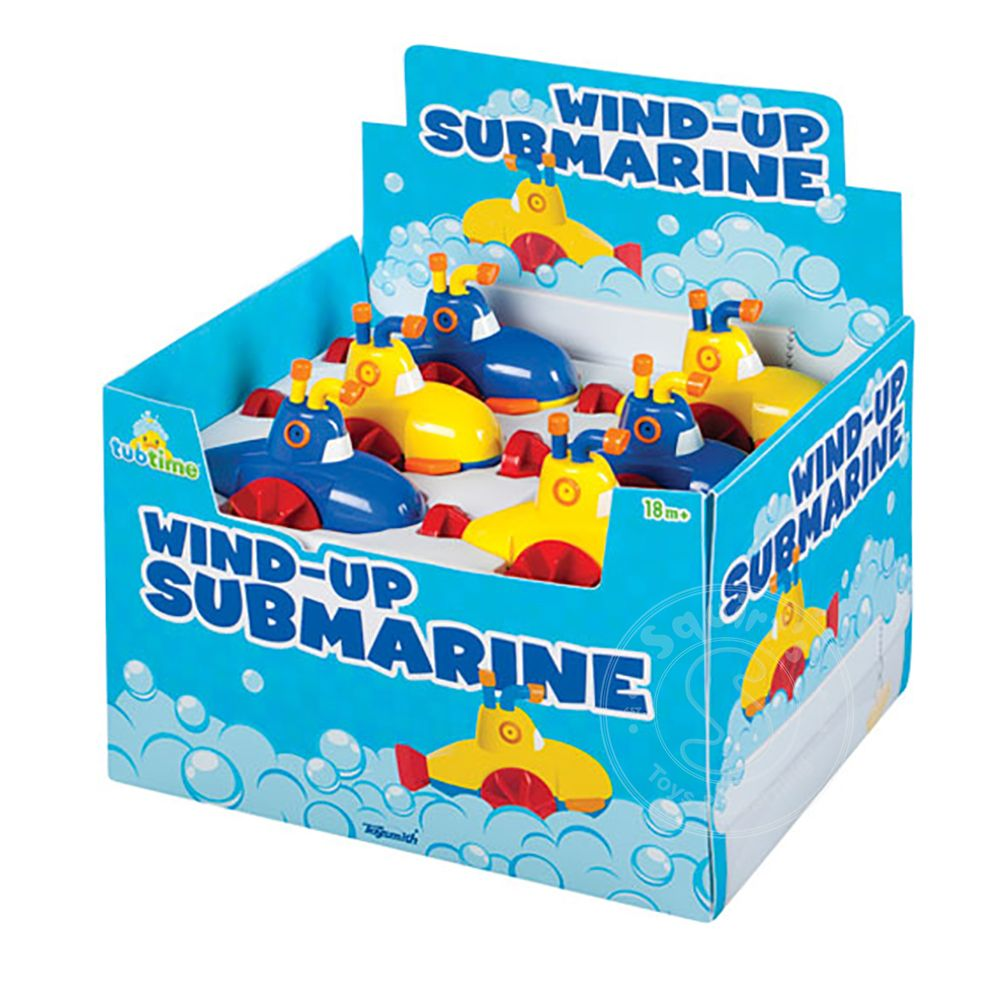 Wind-Up Submarine - Squirt\'s Toys & Learning Co