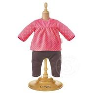 "Corolle Corolle Mon Premier Bebe Raspberry Blouse & Denim 12"" Doll Outfit"