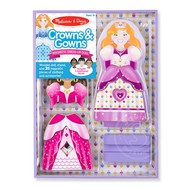 Melissa & Doug Melissa & Doug Magnetic Dress-Up Crowns & Gowns