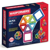 Magformers Magformers Standard Magnetic Building Set 26pcs