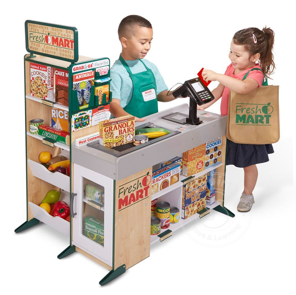Melissa & Doug Fresh Mart Grocery Store - Squirt\'s Toys & Learning Co