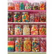 Cobble Hill Puzzles Cobble Hill Candy Shelf Puzzle 500pcs