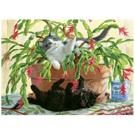 Cobble Hill Puzzles Cobble Hill Cactus Kitties Puzzle 1000pcs