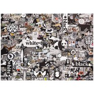 Cobble Hill Puzzles Cobble Hill Black and White Animals Puzzle 1000pcs
