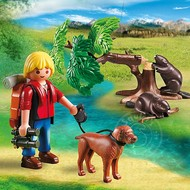 Playmobil Playmobil Beavers with Backpacker RETIRED