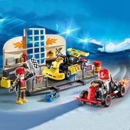 Playmobil Playmobil Go-Kart Garage Starter Set RETIRED