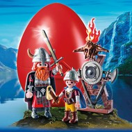 Playmobil Playmobil Easter Egg Vikings with Shield