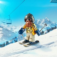 Playmobil Playmobil Skier with Poles