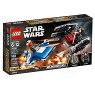 LEGO® LEGO® Star Wars A-Wing vs. TIE Silencer Microfighters