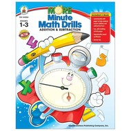 Carson Dellosa More Minute Math Drills Addition & Subtraction Grades 1-3