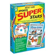 "Key Education Real-Life Sports ""Super"" Stars High Interest/Low Readability Novels"