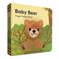 Chronicle Books Baby Bear Finger Puppet Board Book