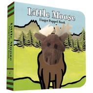 Chronicle Books Little Moose Finger Puppet Board Book