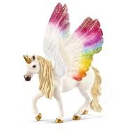 Schleich Schleich Winged Rainbow Unicorn Mare SNA ECXLUSIVE