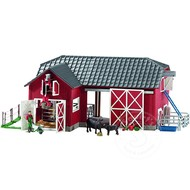 Schleich Schleich Large Red Barn with Animals and Accessories
