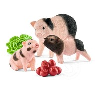 Schleich Schleich Miniature Pig Mother and Piglets
