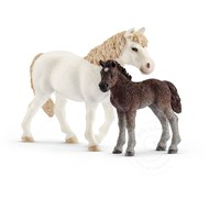 Schleich Schleich Pony Mare and Foal