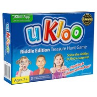 uKloo Riddle Edition Treasure Hunt Game