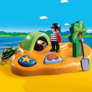 Playmobil Playmobil 123 Pirate Island