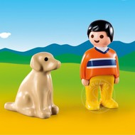 Playmobil Playmobil 123 Man with Dog