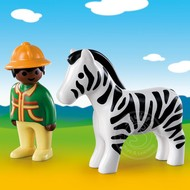 Playmobil Playmobil 123 Ranger with Zebra