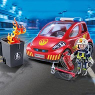 Playmobil Playmobil Firefighter with Car