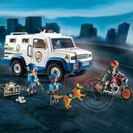 Playmobil Playmobil Police Money Transport Vehicle