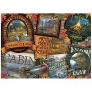Cobble Hill Puzzles Cobble Hill Cabin Signs Puzzle 1000pcs