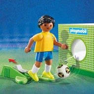 Playmobil Playmobil Soccer Player Brasil