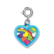 Charm It Charm It! Rainbow Heart Shaker Charm