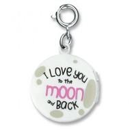 Charm It Charm It! Moon Locket Charm