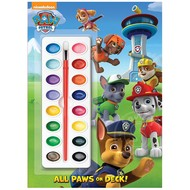 Random House Paw Patrol All Paws on Deck Painting Book