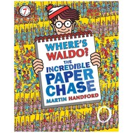 Candlewick Press Where's Waldo? The Incredible Paper Chase