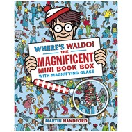 Candlewick Press Where's Waldo the Magnificent Mini Book Box with Magnifying Glass
