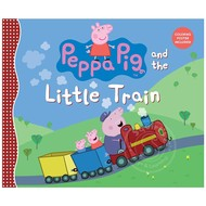 Penguin Peppa Pig and the Little Train